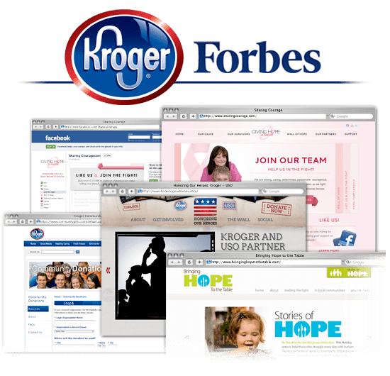 Kroger Recognized as Most Generous Company by Forbes Magazine