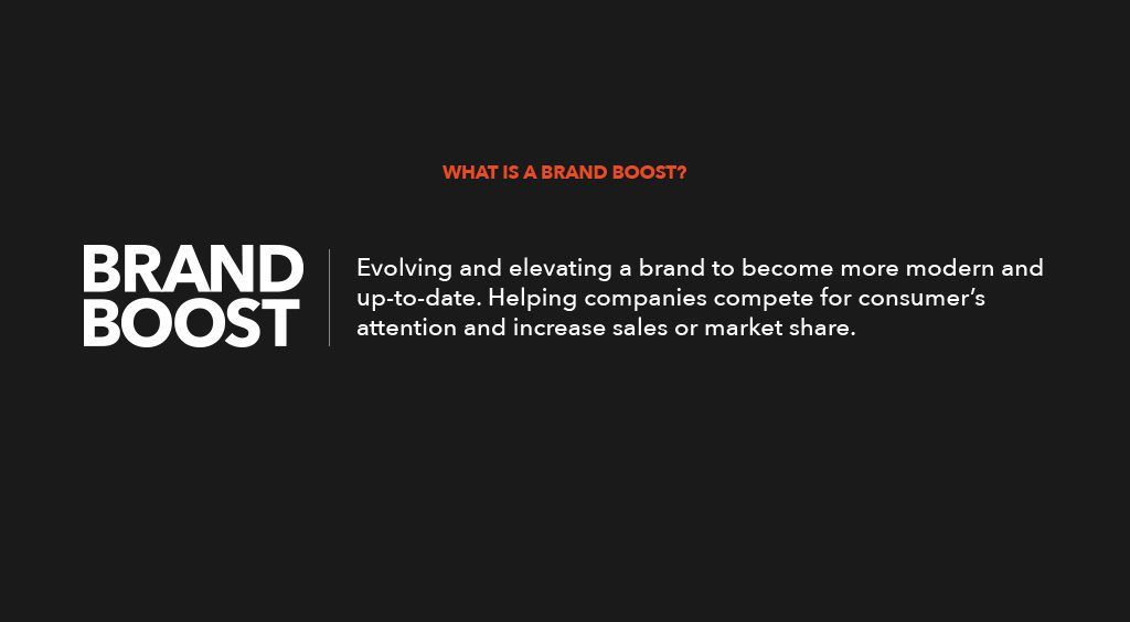 Brand Boost Defintion