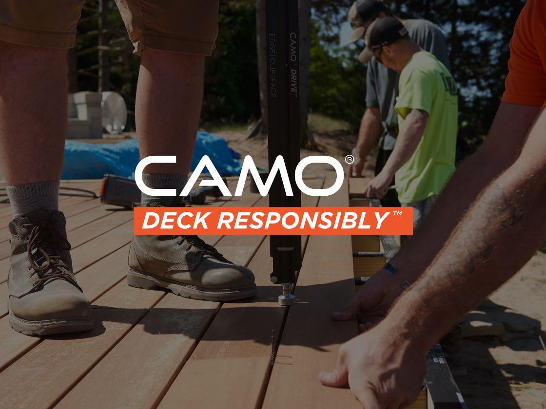 camo deck responsibly