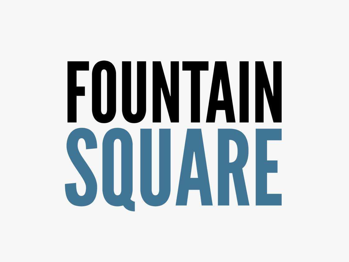 Fountain square logo