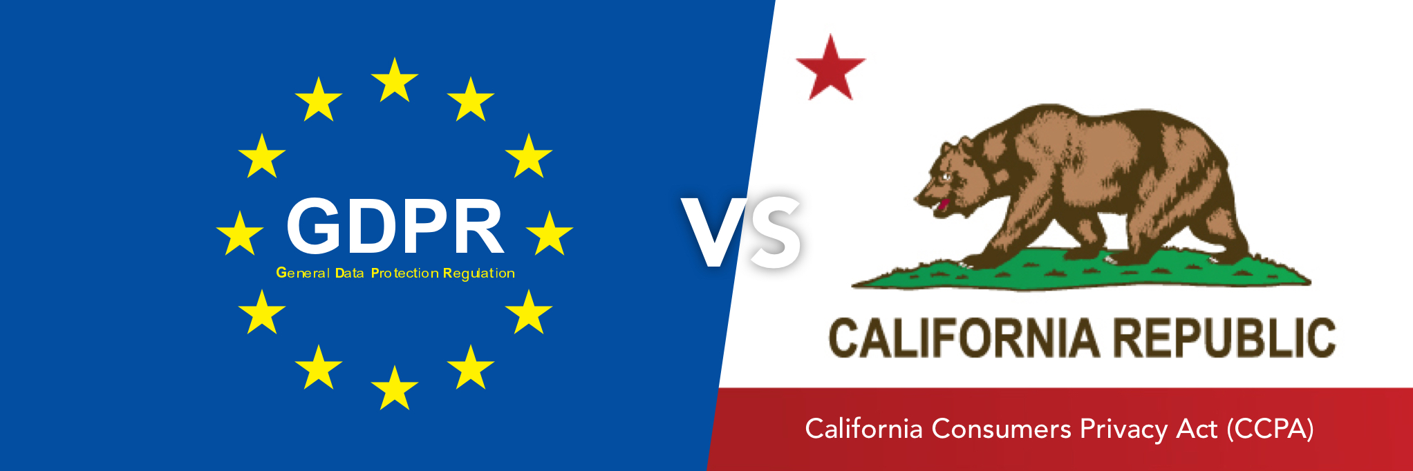 GDPR vs. the California Consumers Privacy Act (CCPA)