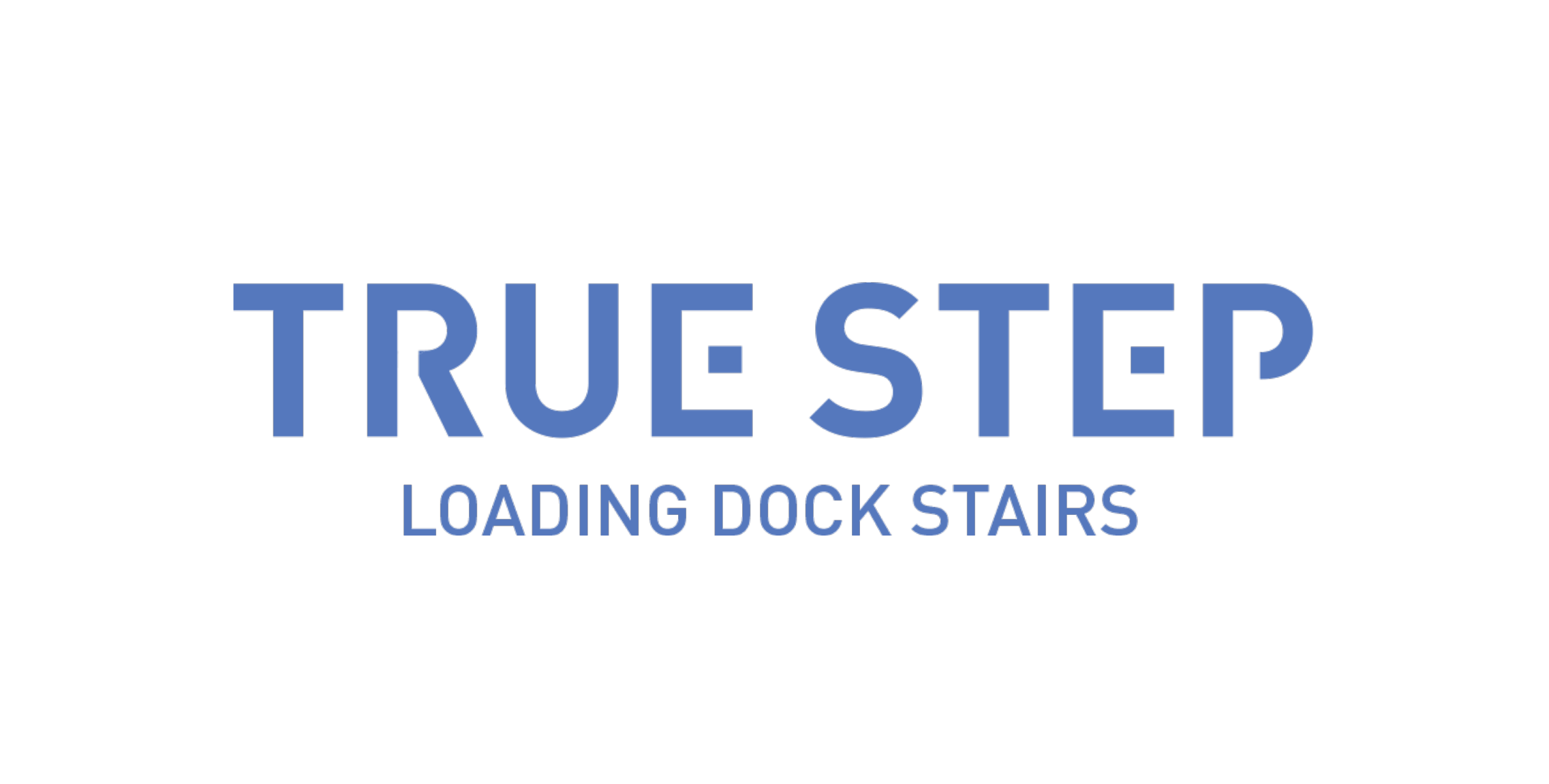 True Step - Loading Dock Stairs Logo