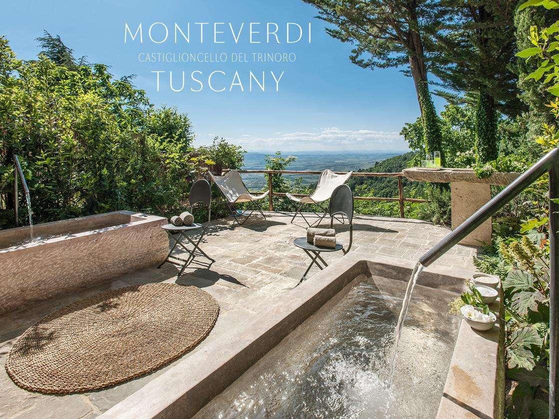 Monteverdi Tuscany scenic spa