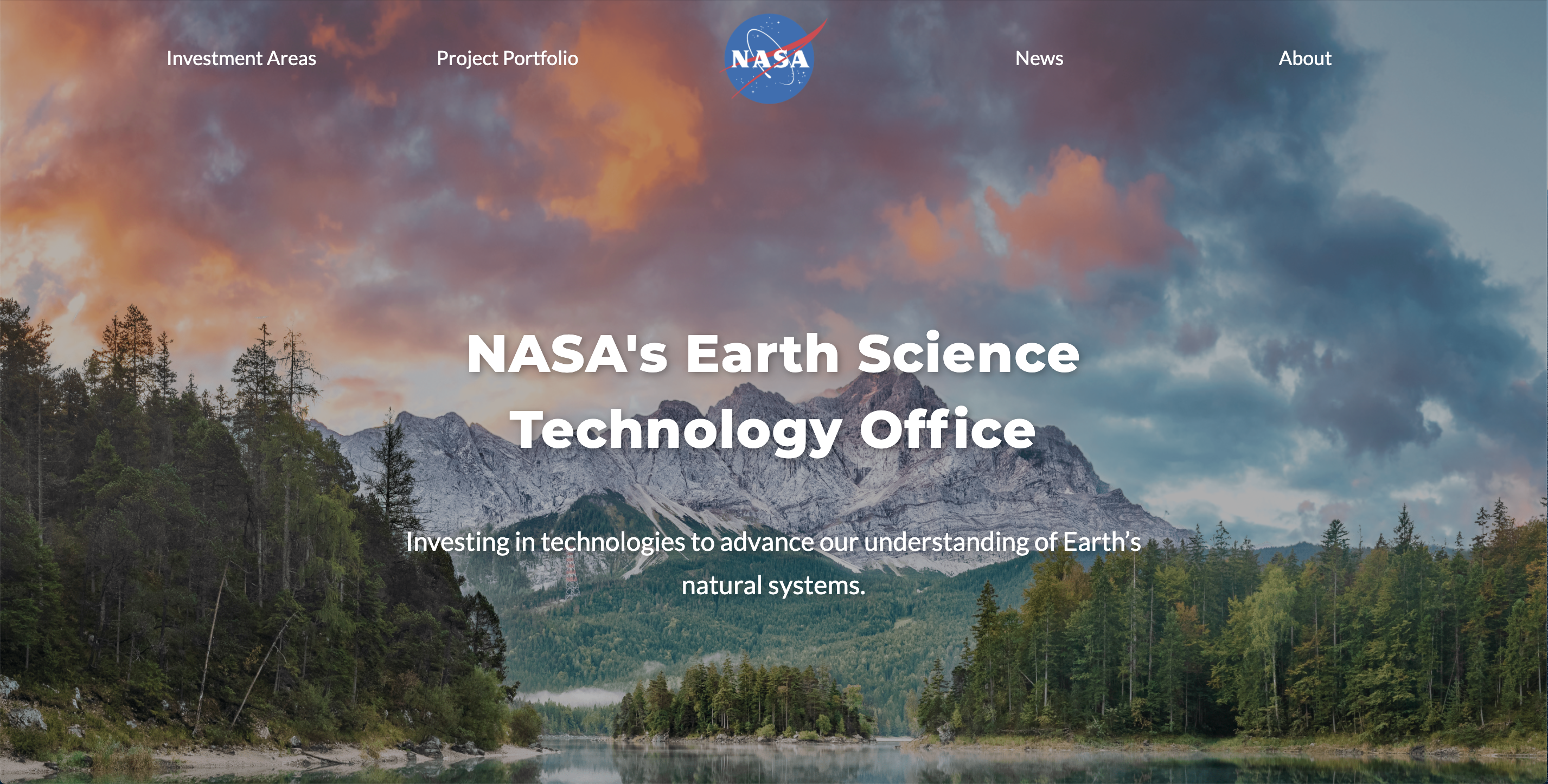 NASA Earth Science and Technology Office after