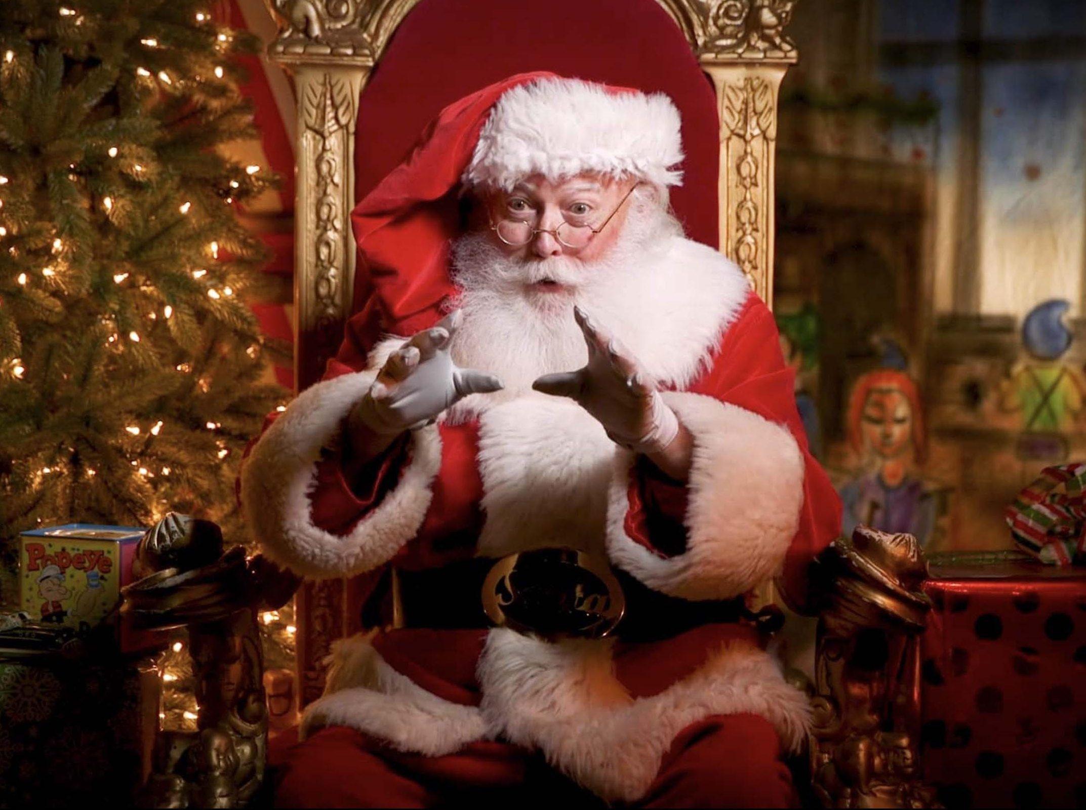 Christmas at Prasco Park Video Santa