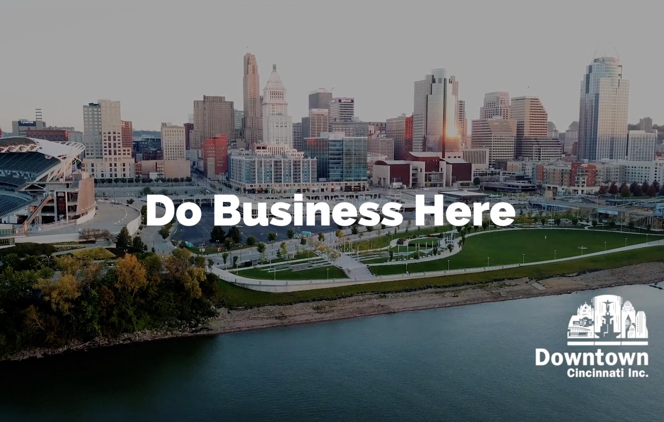 Downtown Cincinnati Inc Promotional Video