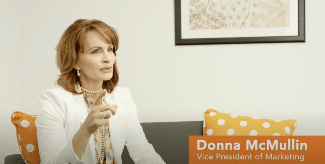 Testimonial video of Donna McMullin