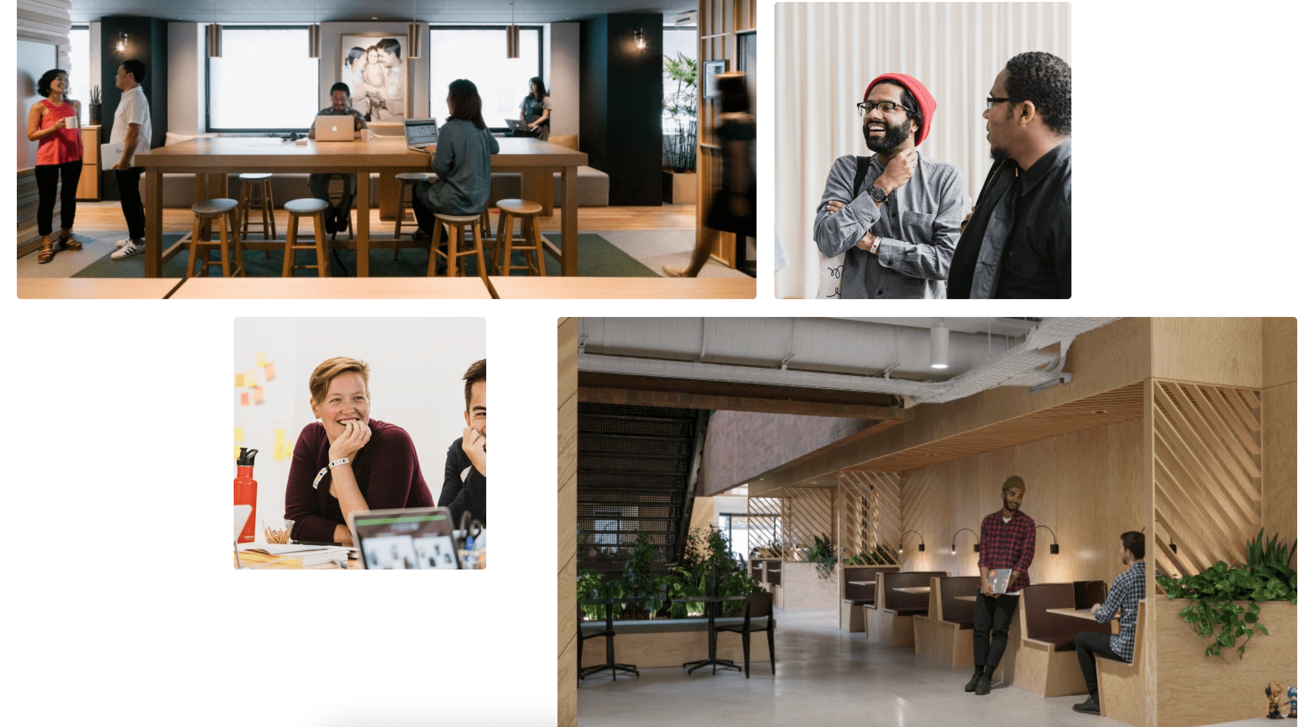 Sample image from AirBnB careers page.