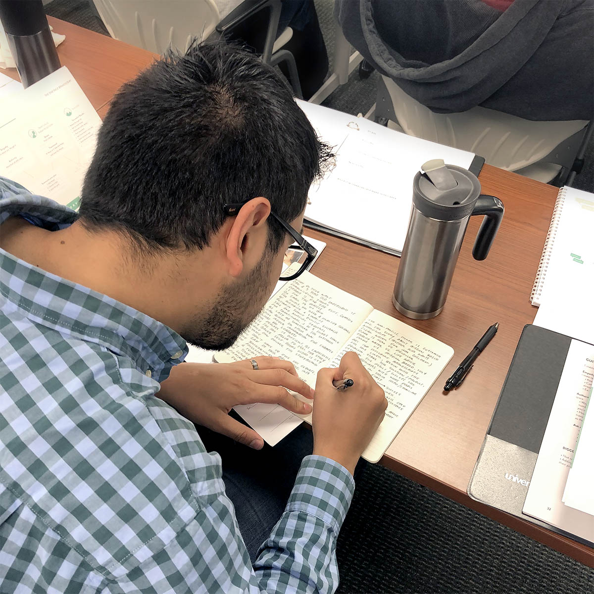 Cincinnati Employee at StoryBrand Certified Guide Training