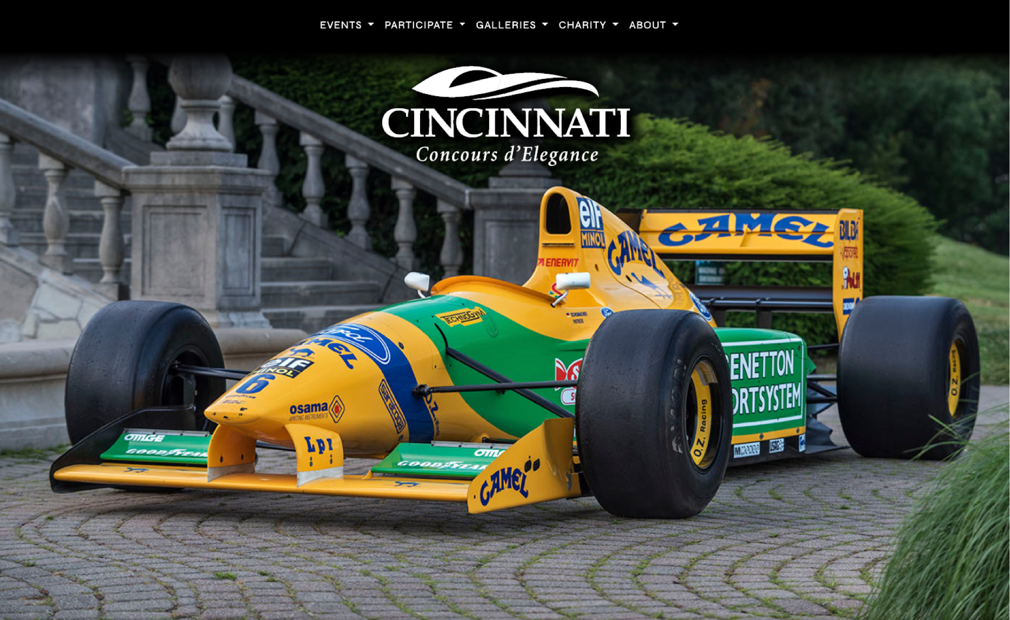 yellow and green race car