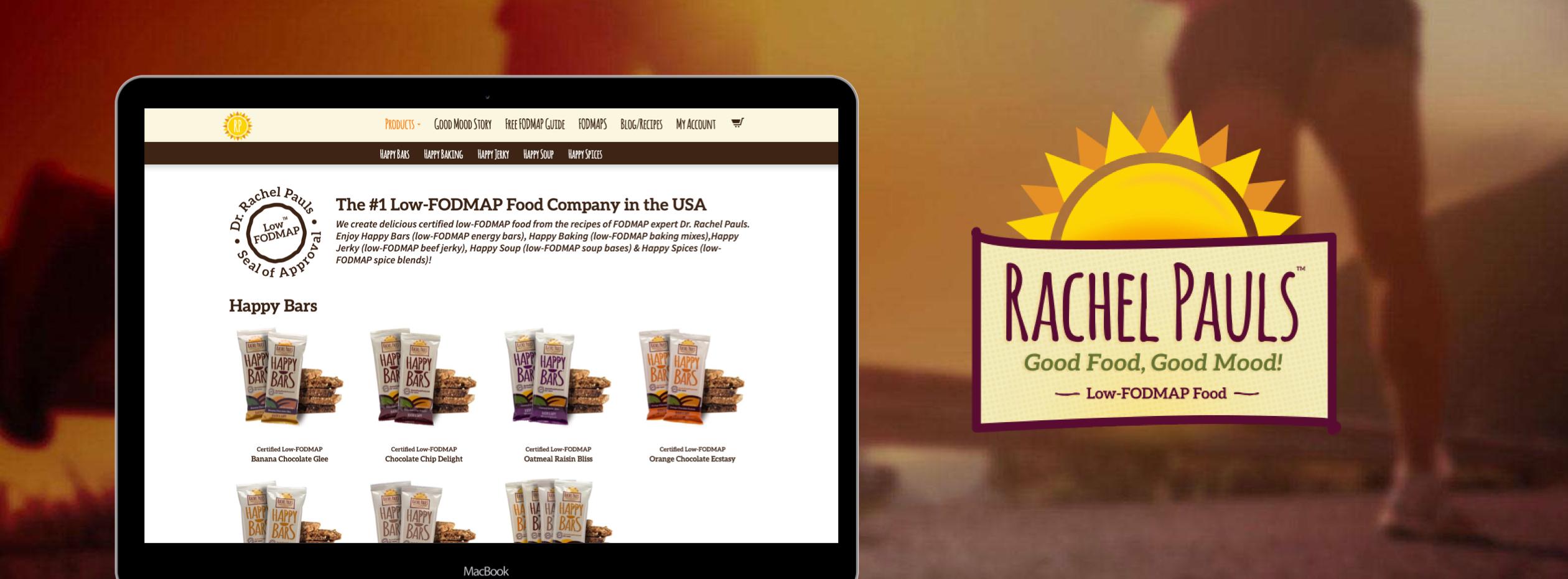 rachelpauls dtc ecommerce website