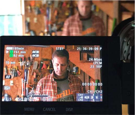 Video shoot for client